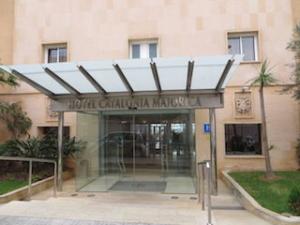 hotel-catalonia-majórica-palma-de-mallorca-eingang
